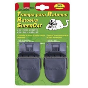 rampa para ratones, SuperCat con cebo atrayente natural.