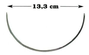 Aguja Hauptner 13 cm.