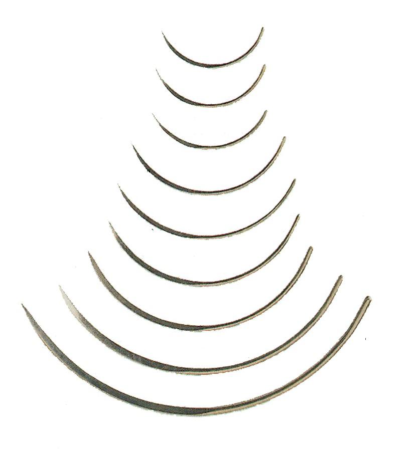 Aguja sutura Hauptner