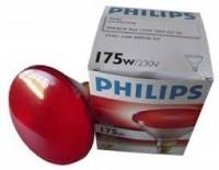 Lámpara de calefacción Philips, infrarroja R175W