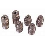 Boquillas de chorro y abanico para hidrolimpiadoras de alta presión