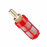 Filtro de aspiración para aditivos sin antirretorno para hidrolimpiadoras de alta presión.