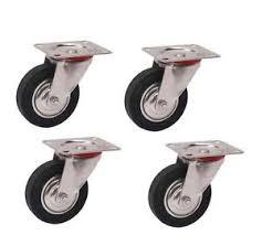 Kit ruedas giratorias